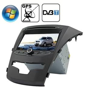 Rungrace 7.0 inch Windows CE 6.0 TFT Screen In-Dash Car DVD Player voor Ssangyong Korando met Bluetooth / GPS / RDS / DVB-T