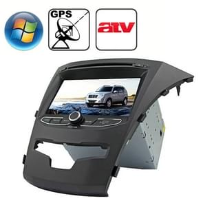 Rungrace 7.0 inch Windows CE 6.0 TFT Screen In-Dash Car DVD Player voor Ssangyong Korando met Bluetooth / GPS / RDS / ATV