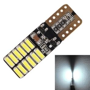 2 stk T10 4.8W 720LM wit Light 24 SMD 4014 LED Canbus auto foutvrij Clearance lichten Lamp  DC 12V