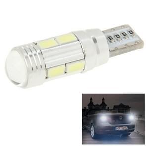 T10 4W wit 200LM 10 LED SMD 5730 Backup Reverse licht schakelen signaal lamp voor voertuigen  DC 12V