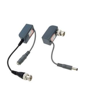 2 stks CCTV camera video/audio/Power balun UTP transceiver
