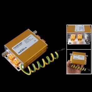 Video data Power Surge Protector 3 in 1 lightning arrester 220V (goud)