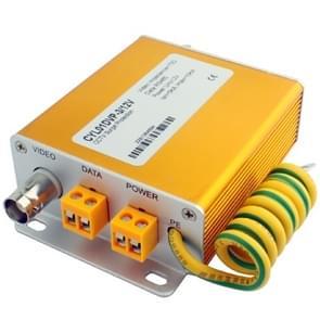 12V 3-in-1 Power Video signaal beveiliging Surge lightning arrester