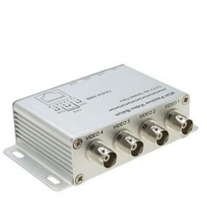 UTP 4-kanaals passieve video balun transceiver