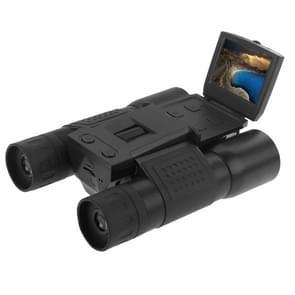 1.3 CMOS 12 X 32 Zoom 32 mm objectief HD 1280x960P 2.0 inch LCD Screen verrekijker telescoop Digitale Camera met Hands-free hals Strap(Black)