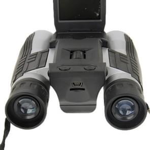 2.0 inch TFT LCD 5MP 12 x 32 Zoom telescoop verrekijker Digitale Camera(Black)