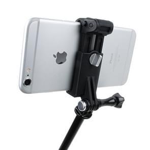 TMC HR335 Outdoor mobiele telefoon Fixing Mount Set  geschikt voor 51-84mm Width mobiele telefoons  GoPro Camera