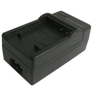 2-in-1 digitale camera batterij / accu laadr voor panasonic dmw bce10e/s008e/s26