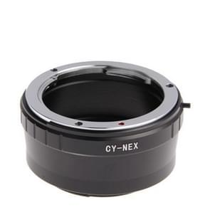 Contax CY to Sony NEX Lens Mount Stepping Ring(Black)