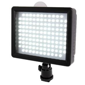 126 led video licht met twee kleuren transparant filter dekking voor camera / video camcorder