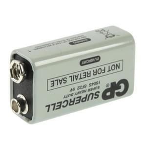 9V 6F22 1604D Heavy Duty Battery for Cameras / Toys / Electronic Devices