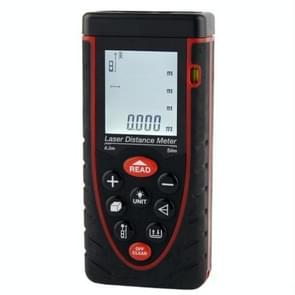 1.9 inch LCD 50m Hand-held Laser Distance Meter with Level Bubble (RZ50)