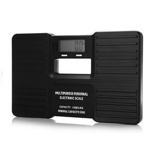 AW-815 Multipurpose Portable Personal Digital Electronic Weight Scale (300g-150kg), Excluding Batteries(Black)