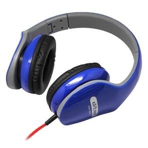 Ditmo DM-2610 opvouwbare stereo muziek koptelefoon (hoofdtelefoonkabel lengte 1 2 meter) (blauw)