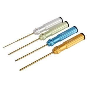 Titanium gelegeerd staal 1.5 mm/2.0 mm/2.5 mm/3 0 mm zeskantschroeven draaier