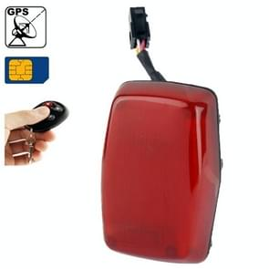 GPS304B GSM / GPRS / GPS Tracker with Remote Controller,Real-time Tracking, Specifically Designed for Motorcycle / Vehicle / E-bike(Red)