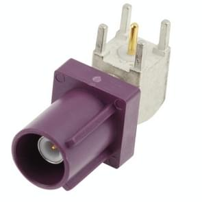 Fakra SMB Connector, Fakra Z Male(Purple)
