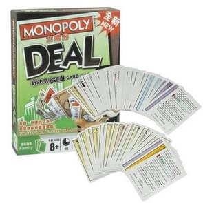 Funny Popular Board Game Set Toy for Children Kids - Monopoly Deal Card