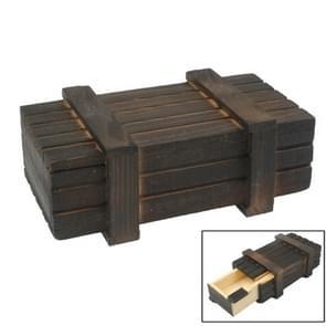 Magische houten Box met geheime lade