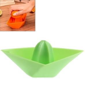 Boat Model Colorful multifunctional Fruit Juicer(Green)