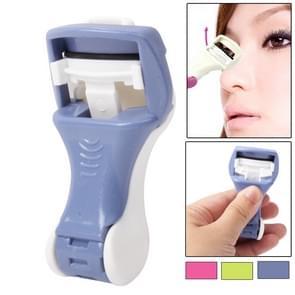 Handmatige Rubber Liner wimper krultang Eye wimpers Enhancement make-up Item (willekeurige kleur levering)