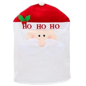 Santa Style Christmas Decoration Chair Cover, Size: 60cm x 50cm
