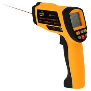 BENETECH GM1850 Digital Display Temperature Gun Handheld Infrared IR Thermometer, Measure Range: 200~1850C