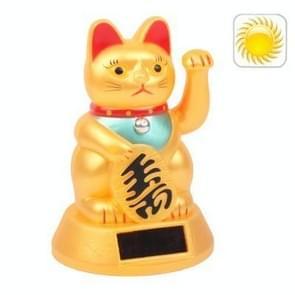 Solar Powered Waving Lucky Cat