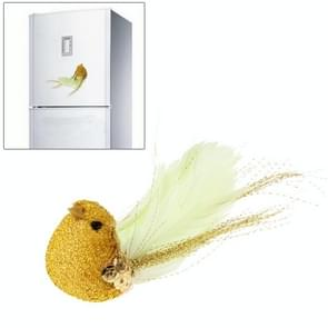 Creative 3D Lifelike Canary Style Magnetic Fridge Sticker (Random Color Delivery)