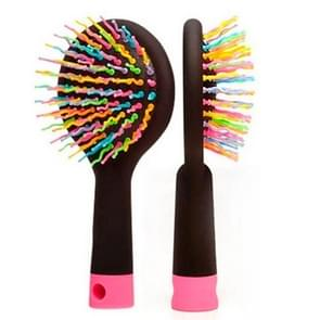 Rainbow Style Massage Hair Comb Styling Tools (Random Color Delivery)
