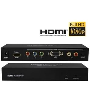 HDMI to YPbPr / VGA Multi-media Switcher