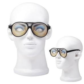 Plastic Funny Joke Glasses with Black Frame(Black)