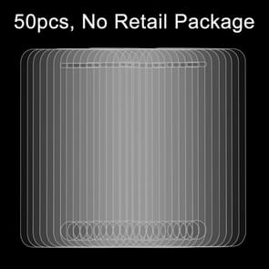 50 PCS for iPhone 4 & 4S 0.26mm 9H Surface Hardness 2.5D Explosion-proof Tempered Glass Film, No Retail Package