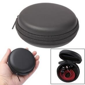 Circulaire uitvoering Bag Box voor hoofdtelefoon / luidspreker (zwart)