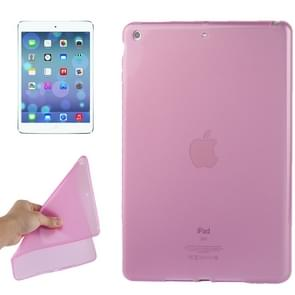 Smooth Surface TPU Protective Case for iPad Air(Pink)