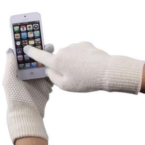 Antislip stippels Gloves of Touch Screen, Voor iPhone, Galaxy, Huawei, Xiaomi, HTC, Sony, LG en other Touch Screen Deviceswit