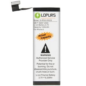 LOPURS 1440mAh Silver Business Replacement Battery for iPhone 5