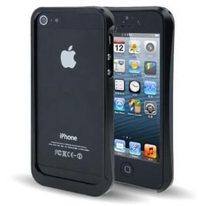iPhone 5 & 5S & SE Metalen Bumper Frame Hoesje (zwart)