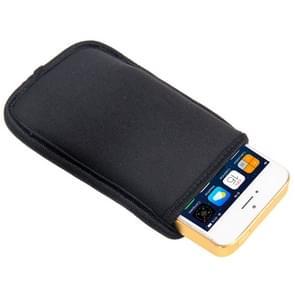 Waterdicht materiaal hoesje / Carry Bag voor iPhone 5 & 5S  iPhone 4 & 4S  Galaxy S IV mini / i9190