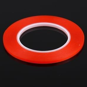 5mm breedte 3M dubbelzijdig zelfklevend Sticker Tape voor iPhone / Samsung / GSM-HTC Touch Panel reparatie  lengte: 25m(Red)