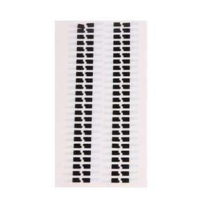 100 stuks voor iPhone 5S LCD Digitizer vergadering Sticker