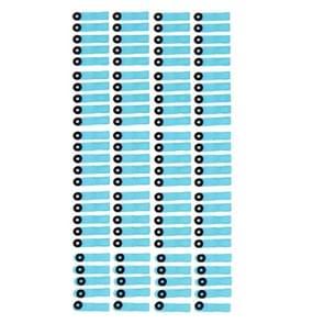 100 stuks voor iPhone 5S originele katoen blokkeren voor LCD Digitizer