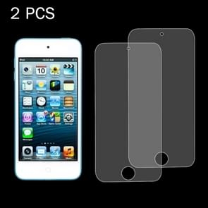 2 PCS 0.26mm 9H Surface Hardness 2.5D Explosion-proof Tempered Glass Screen Film for iPod Touch 5 & touch 6