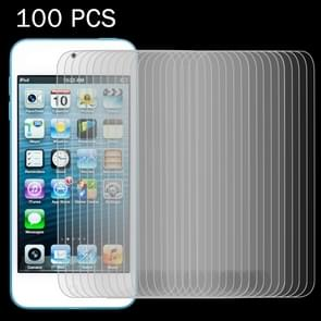 100 PCS 0.26mm 9H Surface Hardness 2.5D Explosion-proof Tempered Glass Screen Film for iPod Touch 5 & touch 6