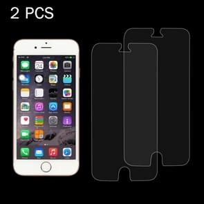 2 PCS for iPhone 6 & 6s 0.26mm 9H Surface Hardness 2.5D Explosion-proof Tempered Glass Screen Film