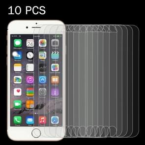 10 PCS for iPhone 6 & 6s 0.26mm 9H Surface Hardness 2.5D Explosion-proof Tempered Glass Screen Film