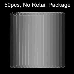 50 stuks voor iPhone 6 / 6S 0 26 mm 9H oppervlakte hardheid 2.5D explosieveilige terug getemperd glas Film  No retailpakket