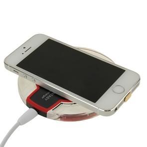 FANTASY draadloze Lader & 8Pin Wireless laad ontvanger  Voor iPhone 6 Plus / 6 / 5S / 5C / 5(zwart)