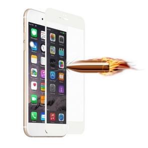 0.2 mm ultradun Frosted volledig scherm gehard glas screen protector voor iPhone 6 & 6s (wit)