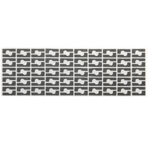 100 stuks voor iPhone 6 Audio Power ijzeren stok katoen Pads
